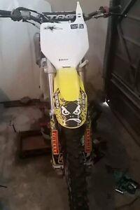 06 rmz250  race bike