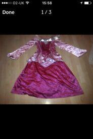 Disney princess outfit 12-13yrs dress shoes bag tiara
