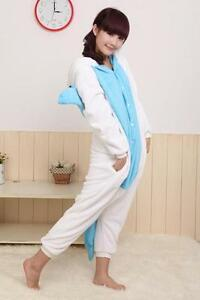 Unisex Kigurumi Pajamas Cosplay Anime Costume Adult Pyjamas Animal Onesies S~XL