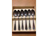 EPNS teaspoons (set of six)