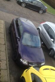 AUDI A3 1.8 TURBO 52 plate purple s3 sport