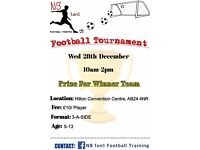 FOOTBALL Tournament in Aberdeen