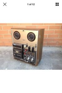 VINTAGE 1970s AKAI GX~1900D REEL-TO-REEL CASSETTE TAPE RECORDER Preston Darebin Area Preview