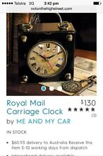 Royal Mail carriage clock Melton Melton Area Preview