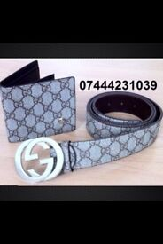 Good Quality 3 for £60 Lv Wallet Gucci Belt £25