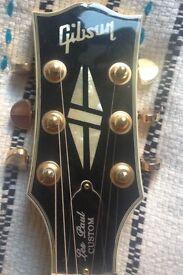 Gibson LP custom guitar