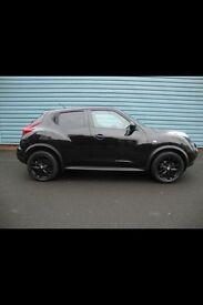 Nissan Juke 1.5 dci diesel all black with black alloys