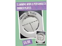 Slimming world Personalized plates