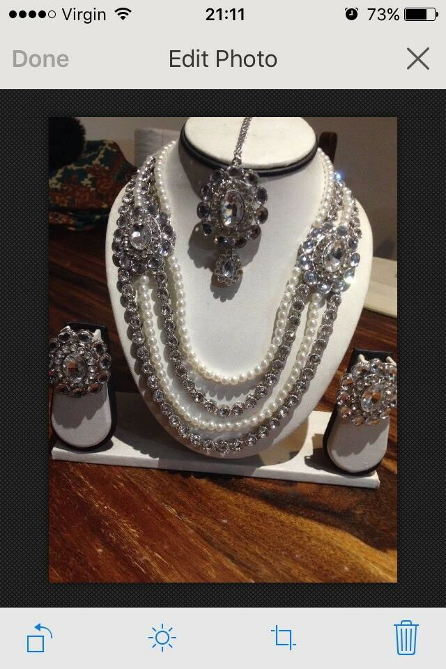 Wedding and party jewellery