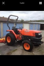 KUBOTA L3200 (32HP) LOW HOURS 4X4 NO VAT