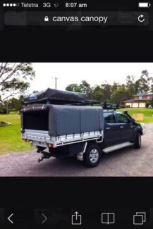Wanted canvas canopy to suit dual cab hilux  City Beach Cambridge Area Preview