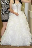 White Quinceanera Dress