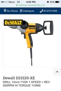 Dewalt mixing drill 710 w Bulleen Manningham Area Preview