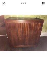 Hostess trolley heated top plus double heated warming cabinet. Ideal for garden/Christmas parties