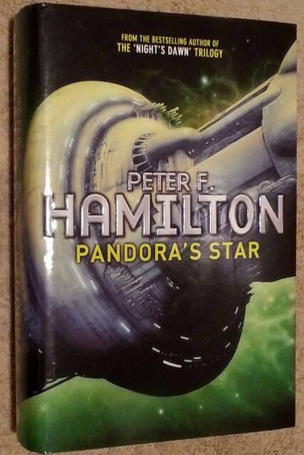 Peter F Hamilton SIGNED Pandora's Star UKHC 1st Edn