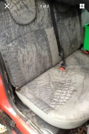 Renault Kangoo rear seats for van conversion