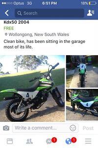 Kdx50 2004 mod Wollongong Wollongong Area Preview