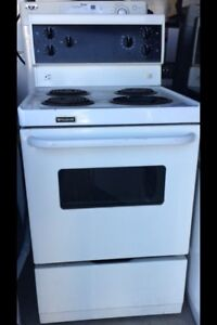 Used Apartment Size 24''..Stove..$255/=..Warranty...647 970 1612