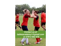 BEGINNERS ACADEMY FOR LADIES WOMENS FOOTBALL SOCCER SOCIAL/KEEP FIT/FITNESS/FUN/FUTSAL/5ASIDE/PLAYER