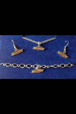 Anaheim 3 Piece Set - Anaheim Ducks NHL 3-Piece Jewelry Set By Peter David Women's/Teens/Girls Gift