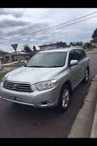 2010 Toyota kulger grand 7 seater AWD auto excellent condit Dandenong North Greater Dandenong Preview