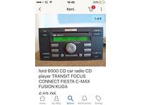 Ford transit mark7 stereo