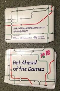 Get Ahead Of The Games Olympic 2012 Ticket Wallet x4