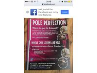 Southampton pole dancing lesson knightwood leisure centre chandlersford pole fitness