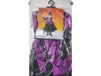 Brand new Halloween witch costume age 7-10yrs