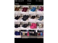 For sale job lot of lady's shoe all size 5 £25 ovno for lot