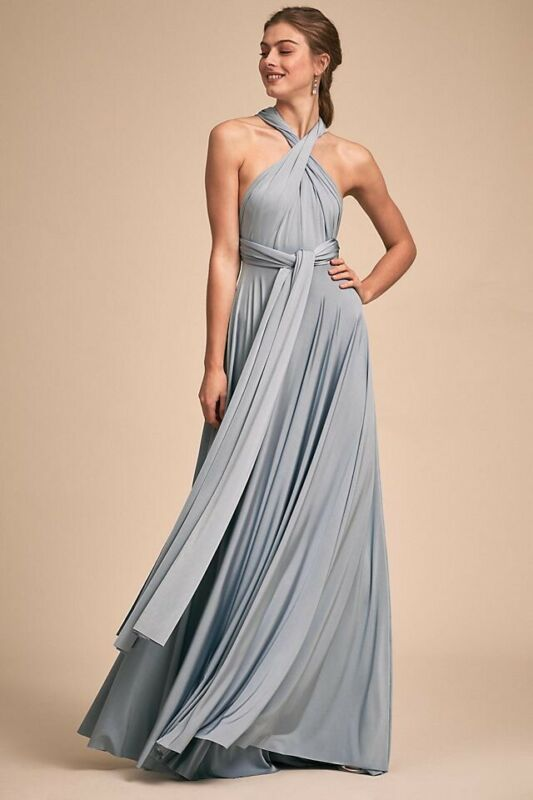 BHLDN x Twobirds Ginger Convertible Maxi Dress Size A