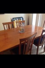 Classic timber dining table Bilgola Pittwater Area Preview