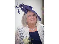 John Lewis women's purple hat