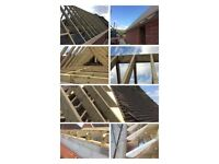 Builder, loft conversion, size rear extensions kitchen and bath