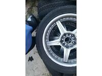 17inch wheels with five spoke and multi fit