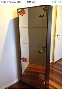 5 Tier Mirrowered BlackShoe Storage Cabinet. Pialba Fraser Coast Preview