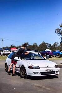 1995 Honda Civic Hatchback Belmont North Lake Macquarie Area Preview