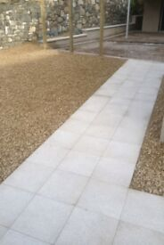 Landscaping paveing groundworks