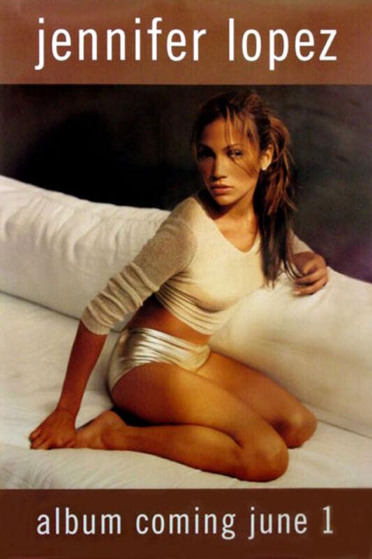 Jennifer Lopez - On the 6 (1999) Album Promo Poster, Original, SS, NM, Rolled