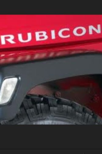 Jeep Rubicon Hood Decals Fit All Jeeps