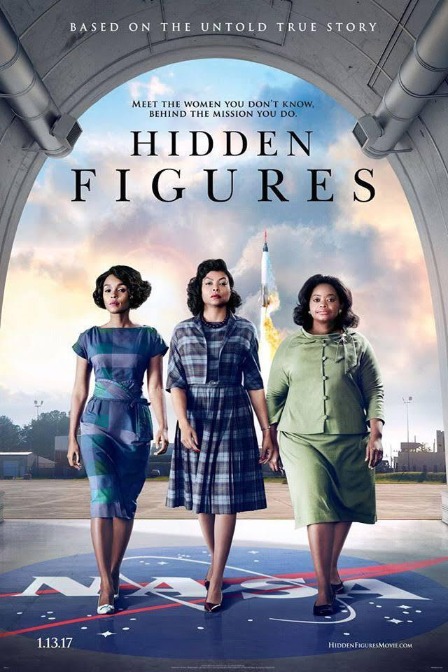 Hidden Figures (DVD, 2017) NEW & SEALED! Same Day Shipping