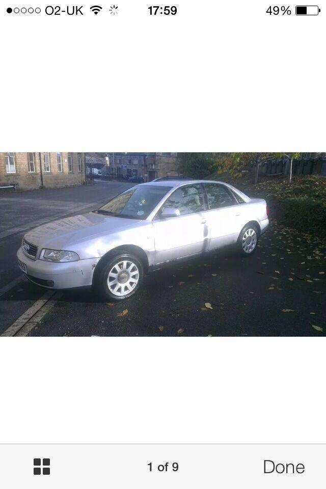 Audi A4 1.9 tdi 2000 silver