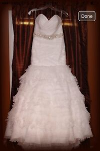 Wedding dress (two looks in one!)