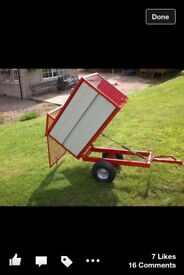Toy silage trailers