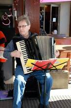 Maurice Keeley . Solo Piano Accordionist Woodrising Lake Macquarie Area Preview