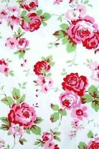 1/2M CATH KIDSTON for Ikea Rosali White 100%  cotton fabric