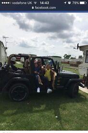 jeep wrangler with hardtop