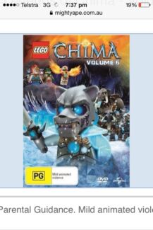 WANTED: Lego Chima DVDs Ellenbrook Swan Area Preview