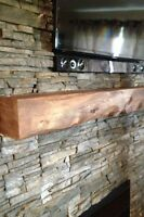 Wood Fireplace Mantles
