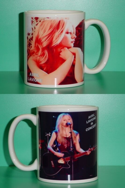 AVRIL LAVIGNE - with 2 Photos - Designer Collectible GIFT Mug